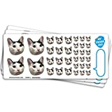 Custom Face Stickers, Stickers of Your Face, Stickers of Your Pet, Elite Sampler Sheet - 3 Sheets