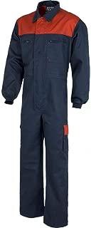 Para Hombre Blanco Azul Marino Rojo Negro Caldera Traje Batas Monos Mecanico Trabajo Usa