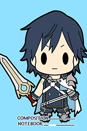 Fire Emblem Awakening Chrom Notebook: (110 Pages, Lined, 6 x 9)