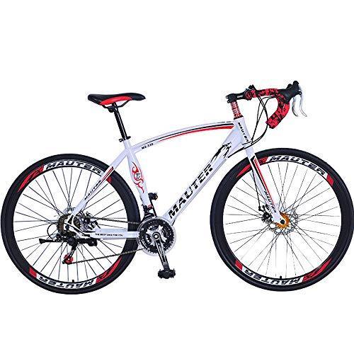 LIUJIE Folding Mountain Bike Doppelaufhebung Fahrrad Herren und Damen Fahrrad 18 Doppelscheibenbremse für Rennradfahren, 27 Zoll, 30 Geschwindigkeiten, Abweichung bis 700 Grad