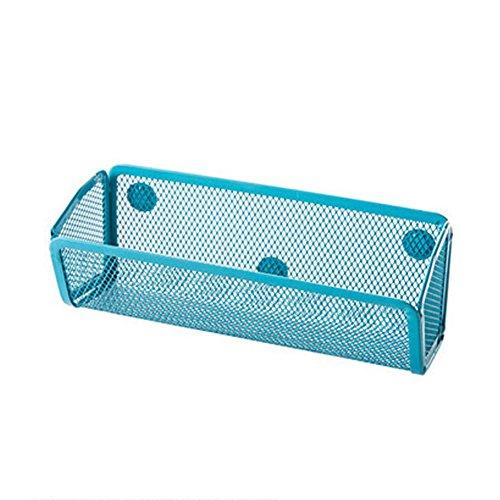gloryhonor Kühlschrank Magnet Ablage adsorbing Halter Aufbewahrung Rack Küche Gadget Organizer 20cm x 8cm x 7.5cm blau