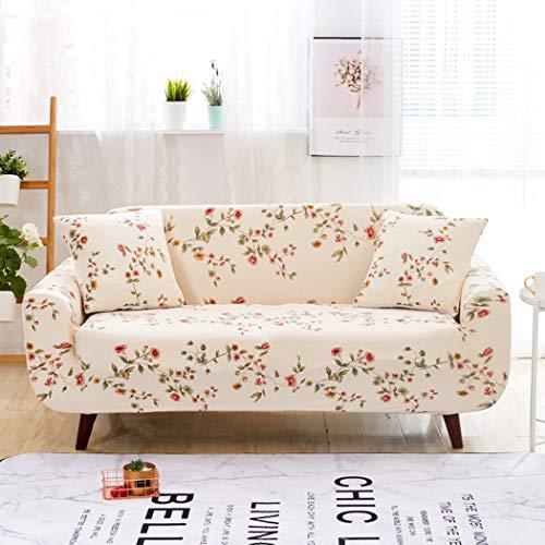 BINGMAX Sofabezug 1/2/3/4 Sitzer Elastischer Sofaüberwurf Sofa Cover Stretch Hussen für Sofa/Couch Jacquard Sofahusse Couchbezug