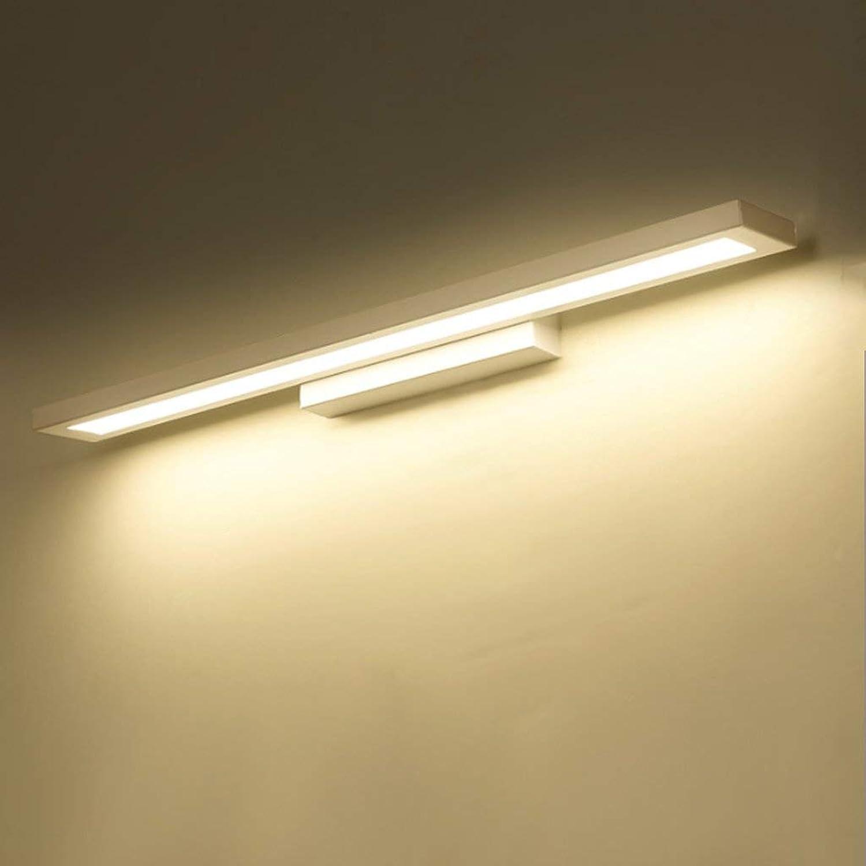 LED-Spiegel vordere Lampe Badezimmer Spiegelschrank Licht Acryl Make-up-Spiegel Leuchten (Farbe  silber-wei-M)