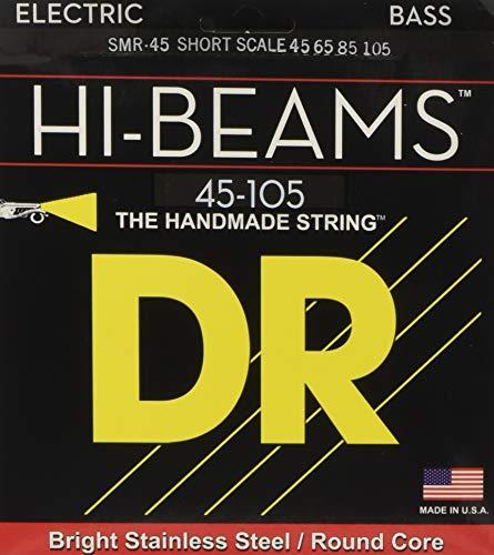 DR Strings HI BEAMS Short Scale 4 String Bass Medium (45-105)