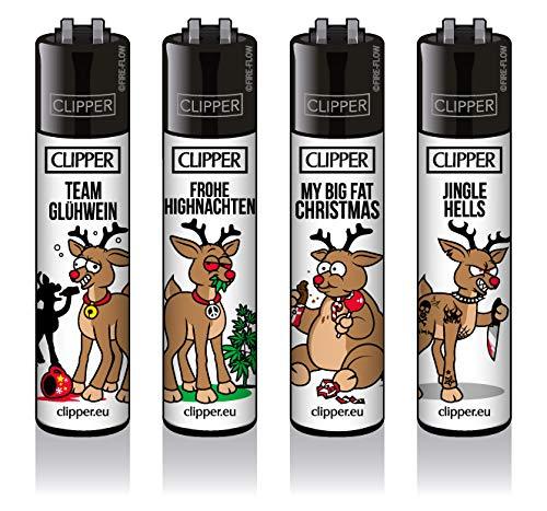 Clipper© Classic - Rentiere 4er Set - inkl. exkl. CKS Filtertip