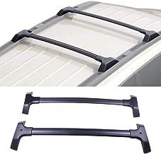 cciyu Universal Aluminum Roof Rack Cross Bar Car Top Luggage Carrier Rails Fit for 2009-2017 Chevrolet Traverse Sport Utility 4-Door 3.6L