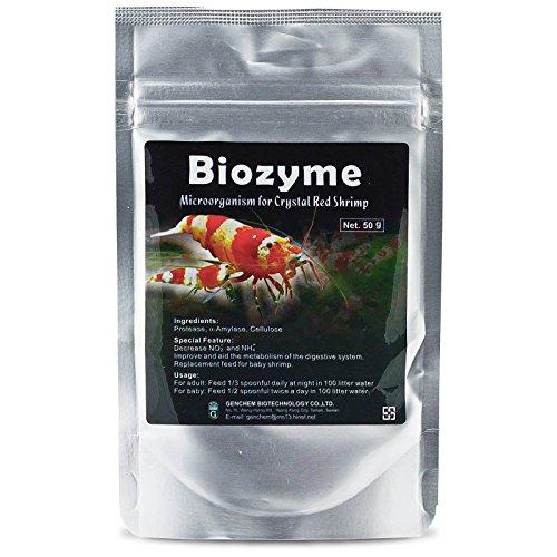 Genchem Biozyme – Bakterienfutter für Garnelen