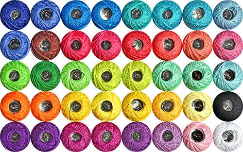 Crochet Thread 40 Colors