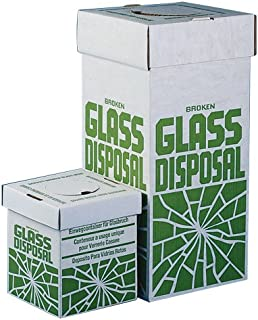 SP Scienceware-246530001 Bel-Art Cardboard Disposal Cartons for Glass; 12 x 12 x 27 in, Floor Model (Pack of 6) (F24653-0001)