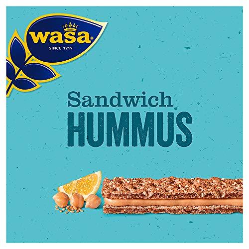 Wasa Knäckebrot Sandwich Hummus, 8er Pack (8 x 96 g)