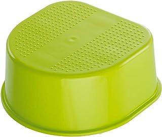 Rotho Babydesign Fotelik dziecięcy, antypoślizgowa powierzchnia i nóżki, Bella Bambina, Apple Green (zielony), 200240205