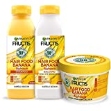 Garnier Fructis Hair Food Banana Nutriente, Kit...