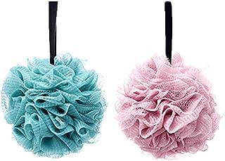 Lote de 2 esponjas de baño suaves y extradensas