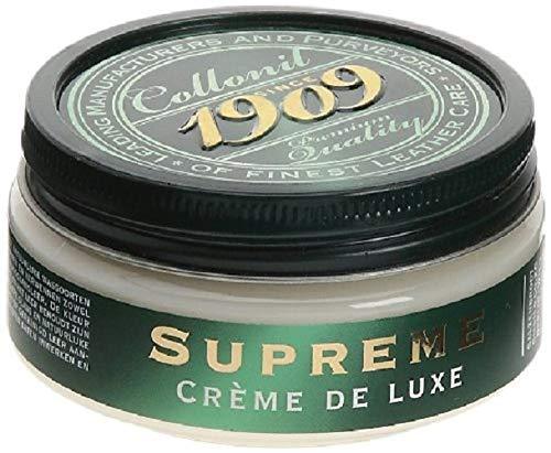 Collonil 1909 Supreme Creme de Luxe 79540011050, Unisex-Erwachsene Schuhcreme, Schwarz (Noir), 100 ml
