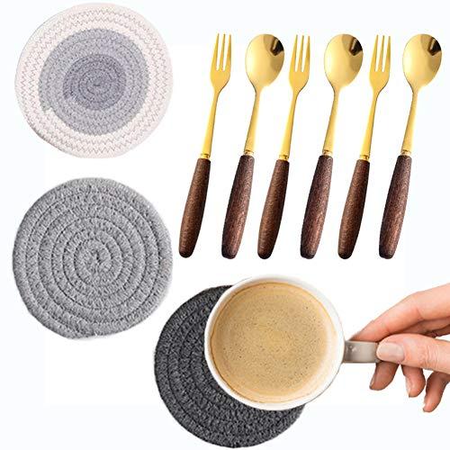 Cucharillas de café/Cuchara para postres Tenedor de postre