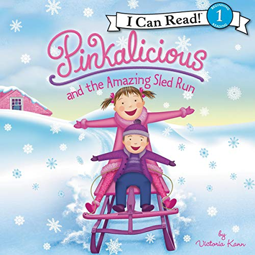 Pinkalicious and the Amazing Sled Run  By  cover art