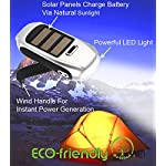 NEW Re-Wind Eco Friendly Compact Pocket Torch - Features: Wind-up Action, Rechargeable and Solar Powered, Powerful 3 LED… 3