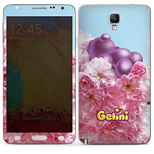 DeinDesign Samsung Galaxy Note 3 Neo Case Skin Sticker aus Vinyl-Folie Aufkleber Gelini Gummibärchen Lila