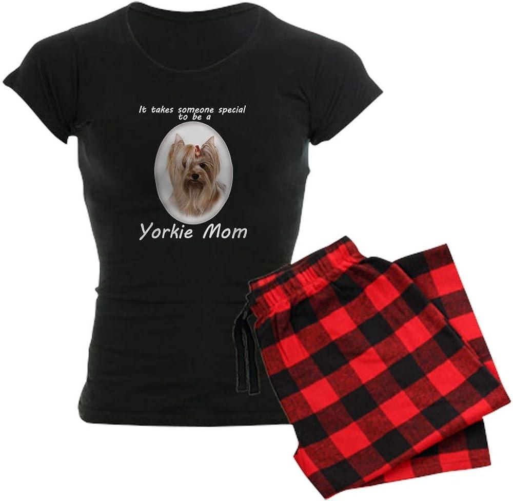 CafePress Yorkie Mom 新着セール 格安店 PJs Pajamas Women's