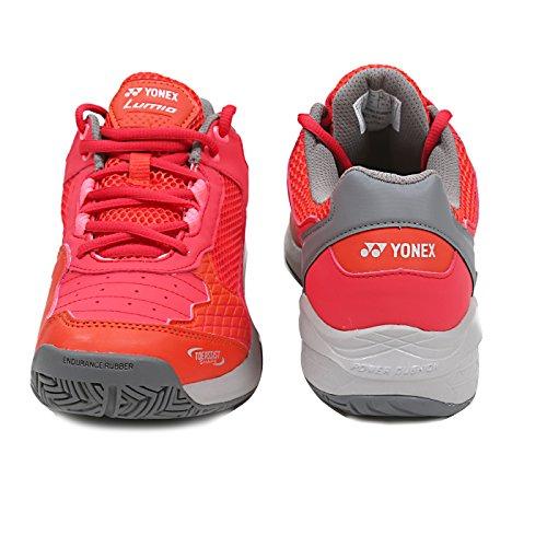 Yonex Tennis Shoes Power Cushion Lumio Shtluex for Men (9 UK, Red)