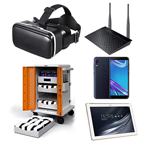 Google Expeditions Student VR Kit (20 Pack) - Android VR Device, Dual Core Router, Teacher Tablet, Carry Case (20 Kit)
