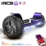 RCB Hoverboard Scooter elettrico fuoristrada Scooter 8.5 '' Hummer LED APP Bluetooth integrato con...