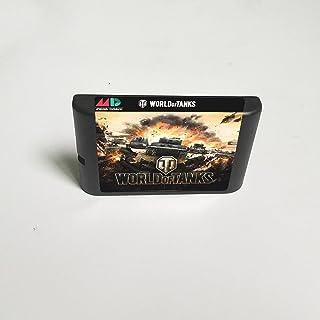 Lksya World Of Tanks - Carte de jeu MD 16 bits pour cartouche de console de jeu vidéo Sega Megadrive Genesis (US Shell)