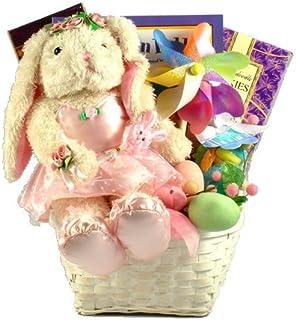 Gift Basket Village Ballerina Bunny Deluxe Easter Basket for Girls