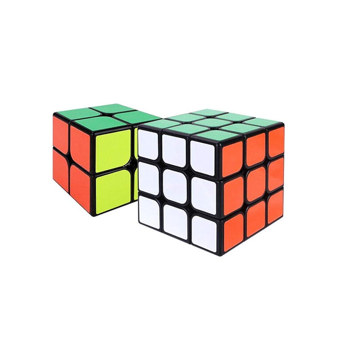 丘泥沼ドローChenjinxiang01 ルービックキューブ、高品質ABS素材で作られたルービックキューブ、使いやすい、プロフェッショナル向けルービックキューブとして使用可能(2次3次2パック) 健康および環境保護 (Edition : Third-order anad Fourth-order)