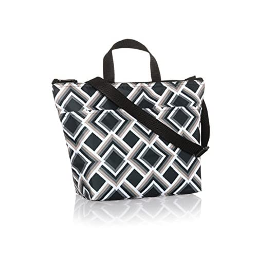 Thirty One Crossbody Thermal Tote in Deco Diamond - No Monogram - 9068 a6cd878439785