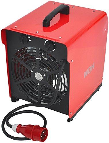 Aktobis Heizgebläse Elektroheizer Bauheizer WDH-BGP09 (9 kW / 16 A)
