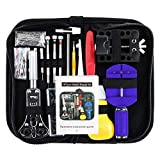 Vastar Watch Repair Kit Professional Spring Bar Tool Set, Watch Band Link Pin Tool Set with Carrying Case