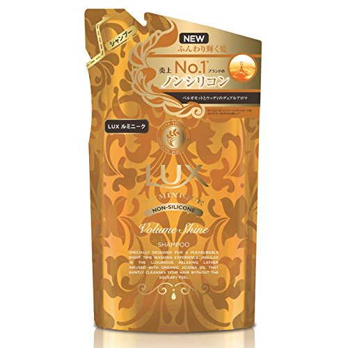 Japan Health and Beauty - 350g refill Lux Ruminiku Gold oil Shine non silicon shampoo *AF27* by Lux
