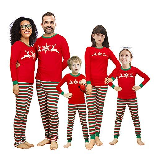 Winging Day Toddler Holiday Christmas Matching Family Long Sleeves Pajamas Set Size 3T