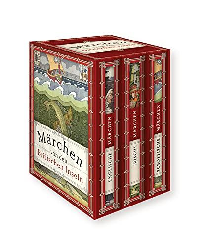 Märchen von den Britischen Inseln - schottische, irische und englische Märchen (3 Bände im Schuber)