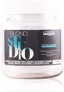L'Oreal Professional Blond Studio Platinum Plus Fast Action Lightening Paste, 17 Ounce