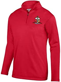 Kappa Alpha Psi World Famous Crest Wicking Fleece Pullover