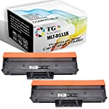 (Newest Chip) TG Imaging (2-Pack) Compatible MLT-D111S 111S Toner Cartridge for Xpress M2020 M2070 Printers