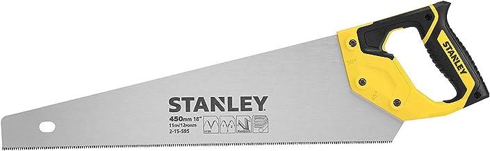 Stanley 2-15-595 Serrucho Fine Piła Ręczna, Wielokolorowy, 450Mm (11 Zębów/Cal)