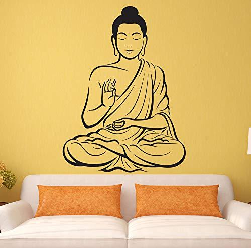 Rhpnyi Sala de Estar hogar Buda Pegatinas de Pared decoración del hogar Mural calcomanías de Vinilo 111x84cm