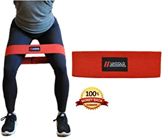 High Resistance Glute Bands | Build and Activate your Glutes, Quads, and Hamstrings with our Booty Bands | Weightlifting, Bodybuilding, Powerlifting, Cross Fit Training, and Yoga for Men and Women