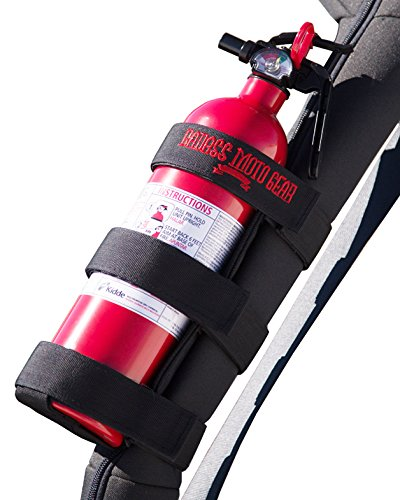 Badass Moto Gear Adjustable Roll Bar Fire Extinguisher Holder for Jeeps – Durable Stitching. Easy Install. for Jeep Wrangler, Unlimited, CJ, JK, TJ, Rubicon, Sahara, Sport. Extinguisher not Included.