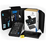 AUTOXEL Pro Tech Toolkit, 85 Pcs Repair Tool Kit Precision Magnetic Screwdriver Set for Laptop, Electronics, Smart Phone, Computer & Tablet Repair