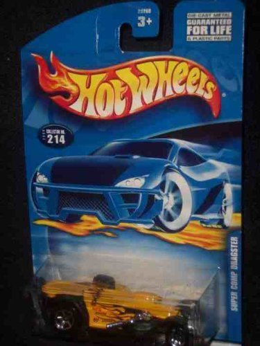 #2000-214 Super Comp Dragster 2001 card Collectible Collector Car Mattel Hot Wheels by Hot Wheels
