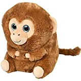 ArtCreativity Belly Buddy Monkey, 10 Inch Plush Stuffed Monkey, Super Soft and Cuddly Toy, Cute Nursery Décor, Best Gift for Baby Shower, Boys and Girls Ages 3+