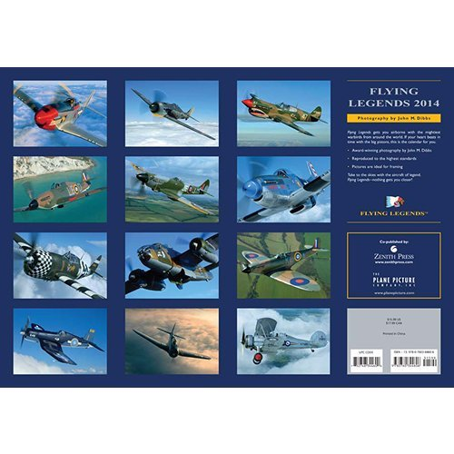 Flying Legends 2014 Deluxe Wall Calendar