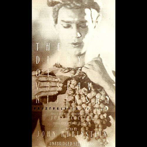 The Diary of Vaslav Nijinsky audiobook cover art