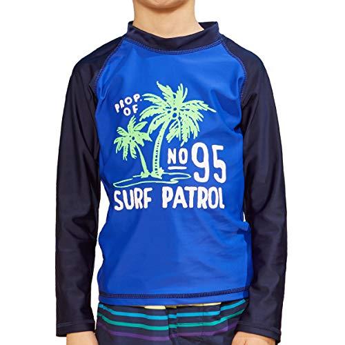 PHIBEE Jungen Badeanzug, Sonnenschutz, Langarm, LSF 50 + Sonnenschutz, 2 Jahre