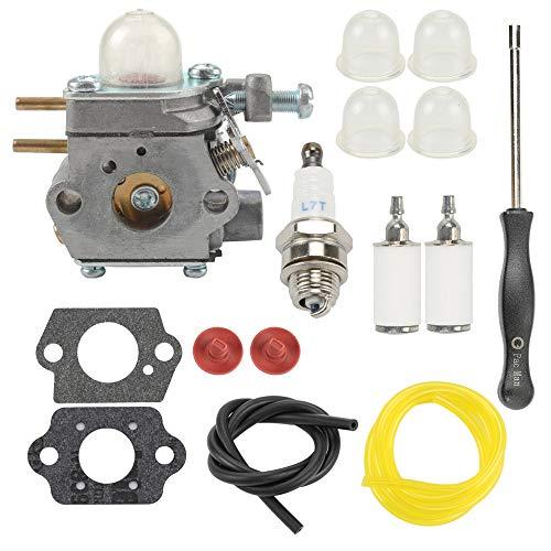 753-06190 Carburetor for Walbro WT-973 Troy-bilt TB2040XP TB21EC TB22EC TB32EC TB42BC TB80EC Yard Man YM71SS MTD M2500 M2510 Bolens BL110 BL160 Trimmer