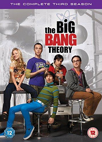 The Big Bang Theory - Season 3 (3 Dvd) [Edizione: Regno Unito] [Reino Unido]
